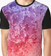 Watercolor Splashes On Paper Graphic T-Shirt