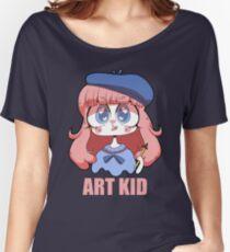 ART KID Women's Relaxed Fit T-Shirt