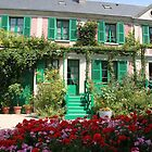 Monet's house and garden, Giverny, France by Elena Skvortsova