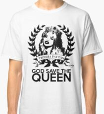 "Trisha Paytas ""God Save The Queen"" Classic T-Shirt"