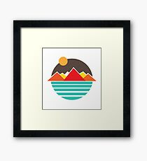 Retro outdoors Framed Print