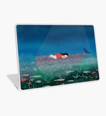 Dream With The Whale Laptop Skin