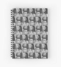 Cuaderno de espiral 5H3 - ¡Le gusta la nueva era! (negro)