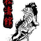 Shotokan Kanji Tiger von DCornel