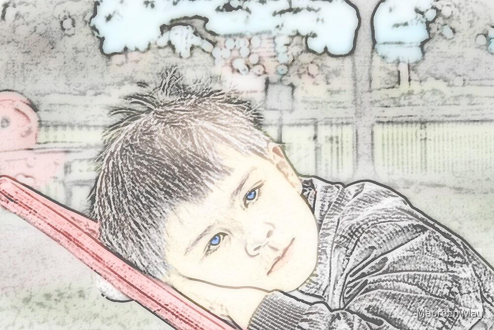 Daydreaming by Maureen May