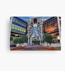 Tel Aviv Opera House Canvas Print