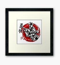 JuJitsu Framed Print