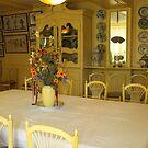 Dining room, Giverny, France by Elena Skvortsova