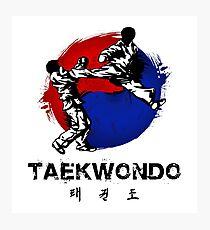 Lámina fotográfica Taekwondo