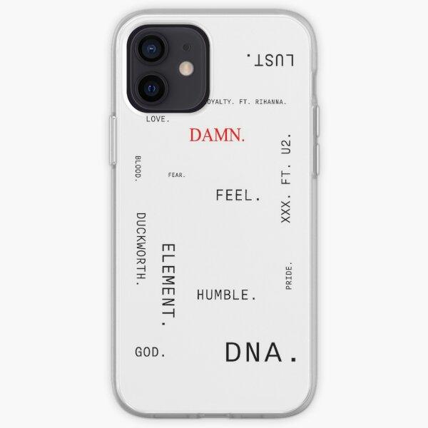 DAMN. text (Kendrick Lamar album) iPhone Soft Case