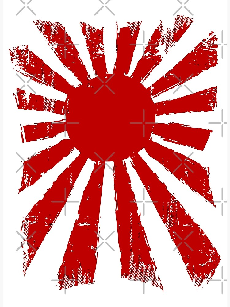 Japan Rising Sun by DCornel
