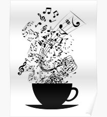 Cup of Music Poster