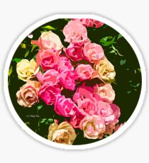 Sunday Roses Sticker