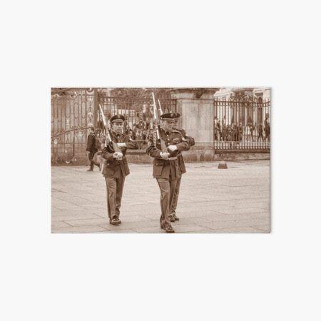 Castle Guard Praha Art Board Print