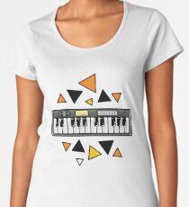 Music keyboard Women's Premium T-Shirt