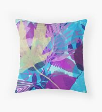 Lots of Lovely Leaves Throw Pillow