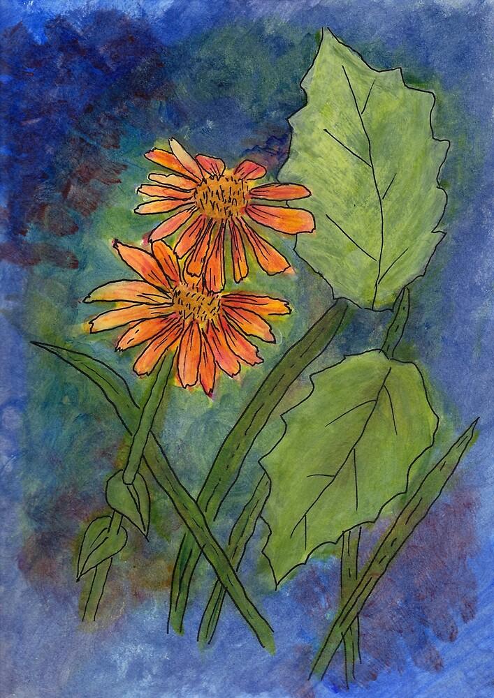 Floral Challenge by Linda Ursin