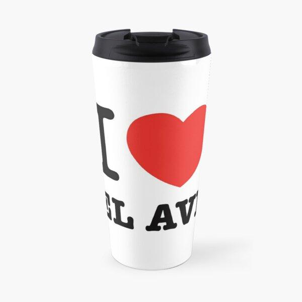 i love Tel Aviv Travel Mug