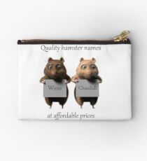 Quality hamster names Studio Pouch