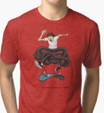 Gnarly Skater Tri-blend T-Shirt