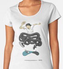 Gnarly Skater Women's Premium T-Shirt