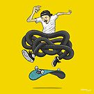 Gnarly Skater by dukenny