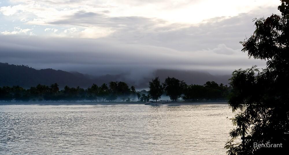Morning mist by Ben Grant