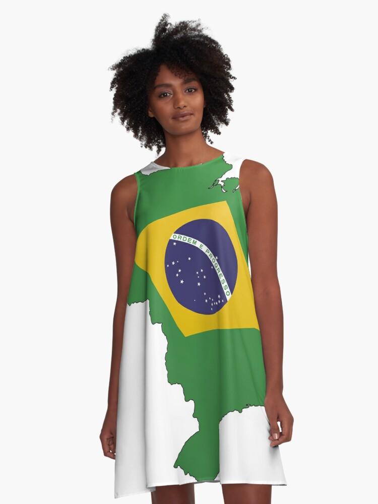 Acampanado 'brasil' Dcornel Vestido De Vestido Vestido Acampanado De 'brasil' Dcornel Acampanado qpUzVMS