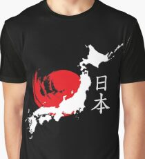 Japan (white) Graphic T-Shirt