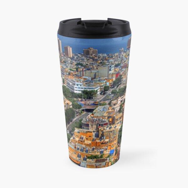 Tel Aviv Eagle Eye City View Travel Mug