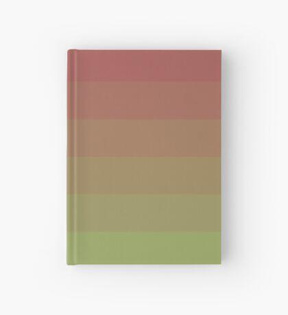 Gradient Lines Magenta Green Cuaderno de tapa dura