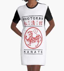 Shotokan Karate Graphic T-Shirt Dress