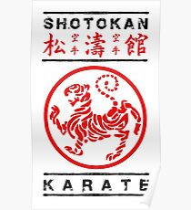 Shotokan Karate Poster