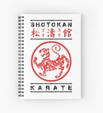 Cuaderno de espiral Karate Shotokan
