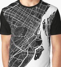 Montreal | Canada | City Map | Minimalism Graphic T-Shirt