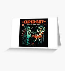 Cupid-Bot Greeting Card