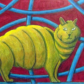 404 - MICHELIN MANX - DAVE EDWARDS - COLOURED PENCILS - 2014 by BLYTHART