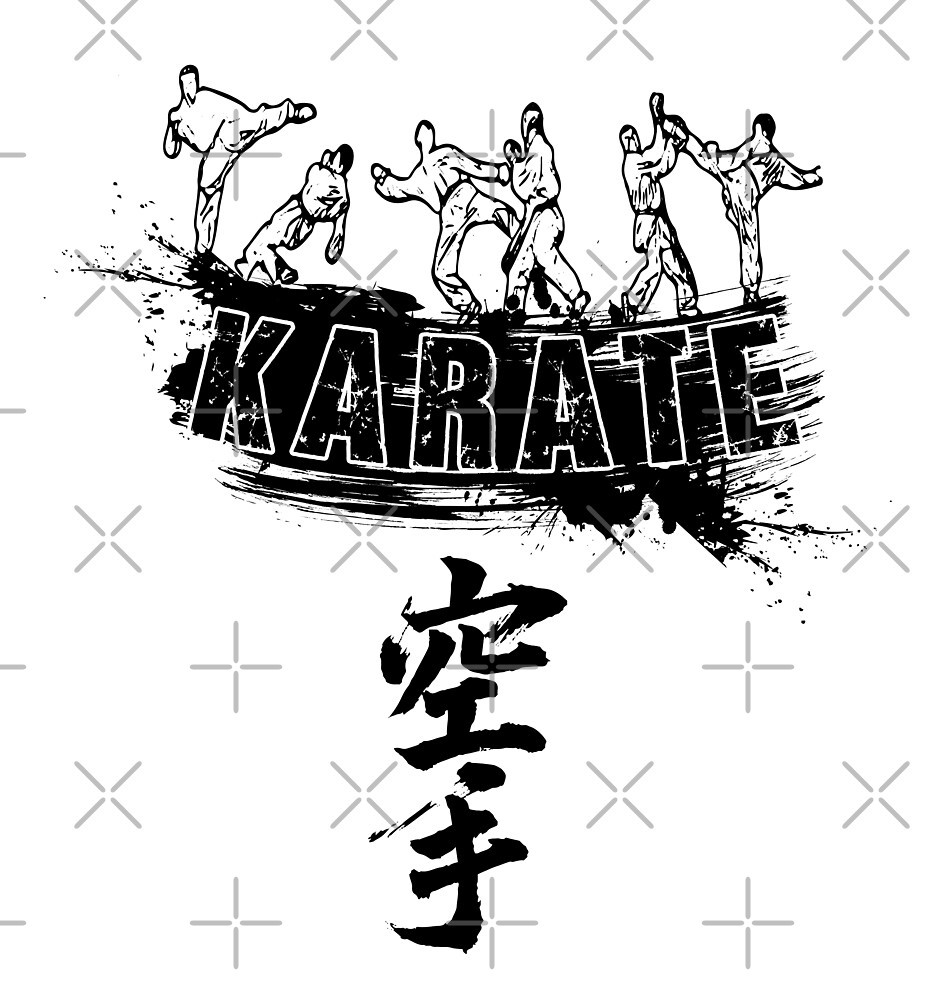 Karate Warriors Black by DCornel