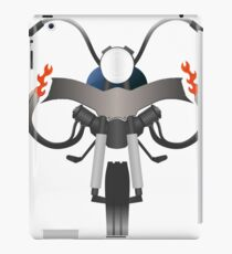 Motorcycle Front Simple  iPad Case/Skin