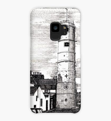 163 - BATH TERRACE LIGHTHOUSE, BLYTH (INK 1988) Case/Skin for Samsung Galaxy