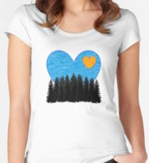Love of the Wild Women's Fitted Scoop T-Shirt