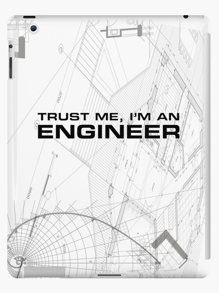 Trust me im an engineer blueprint sketch ipad cases skins by trust me im an engineer blueprint sketch by dcornel malvernweather Image collections