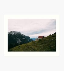 The House on the Top Art Print