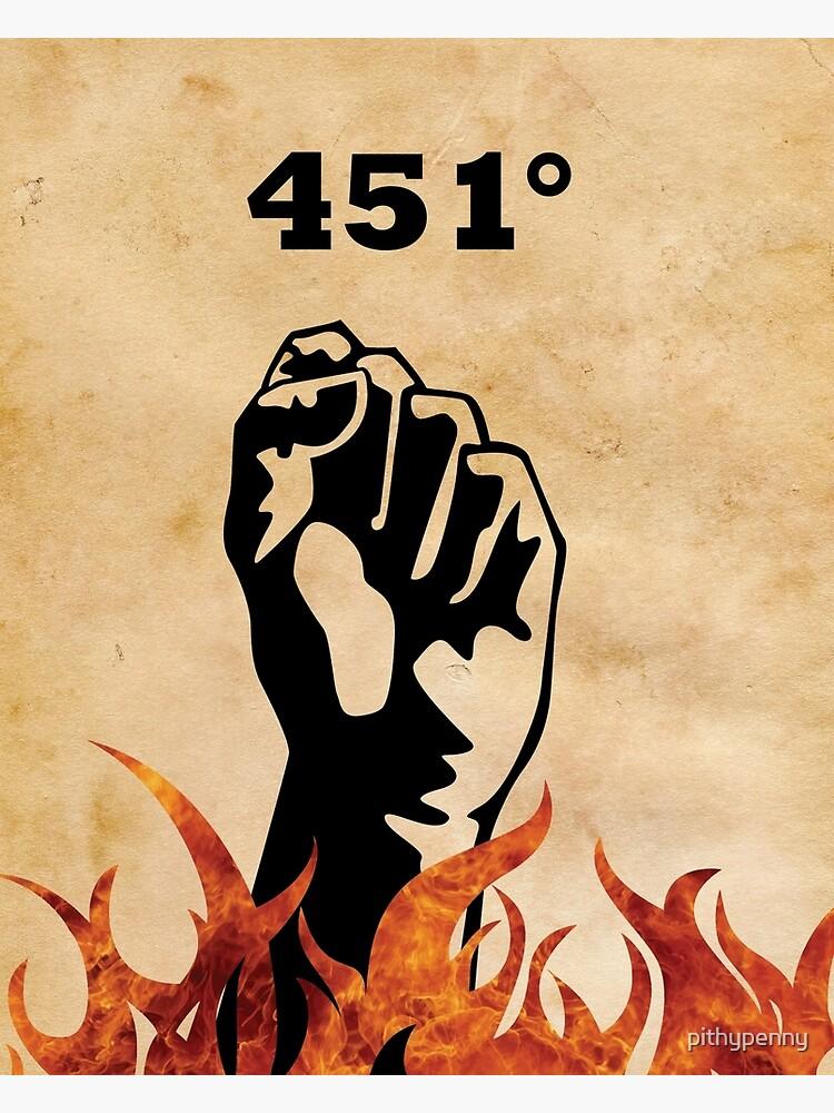 Fahrenheit 451 - Ray Bradbury de 5pennystudio