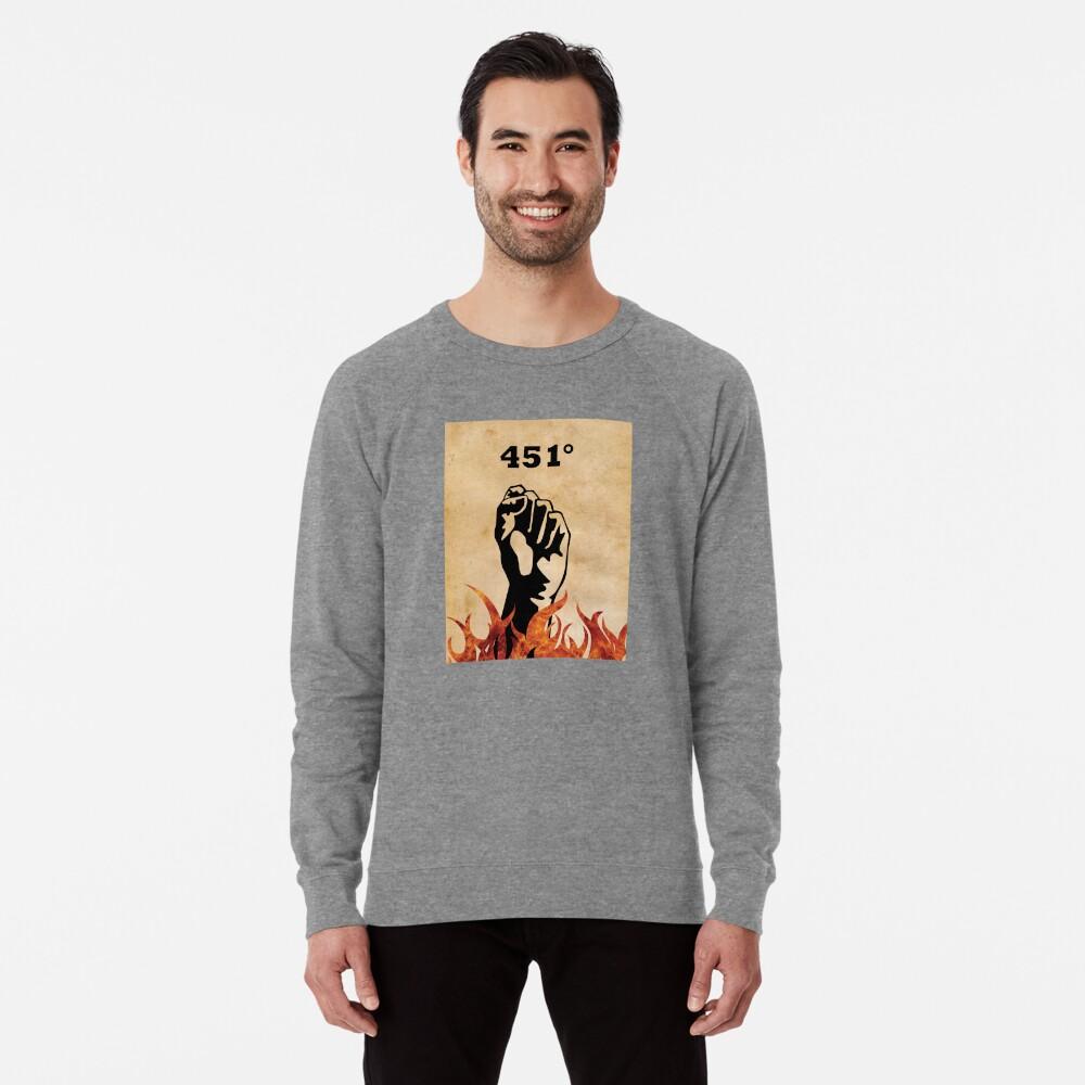 Fahrenheit 451 - Ray Bradbury Sudadera ligera