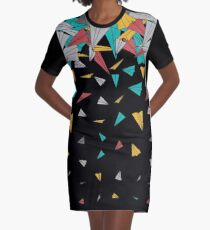 Flying paper planes  Graphic T-Shirt Dress