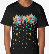 Flying paper planes  Long T-Shirt