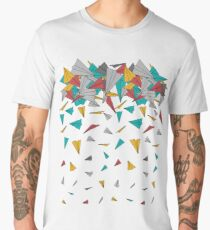 Flying paper planes  Men's Premium T-Shirt