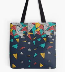 Flying paper planes  Tote Bag
