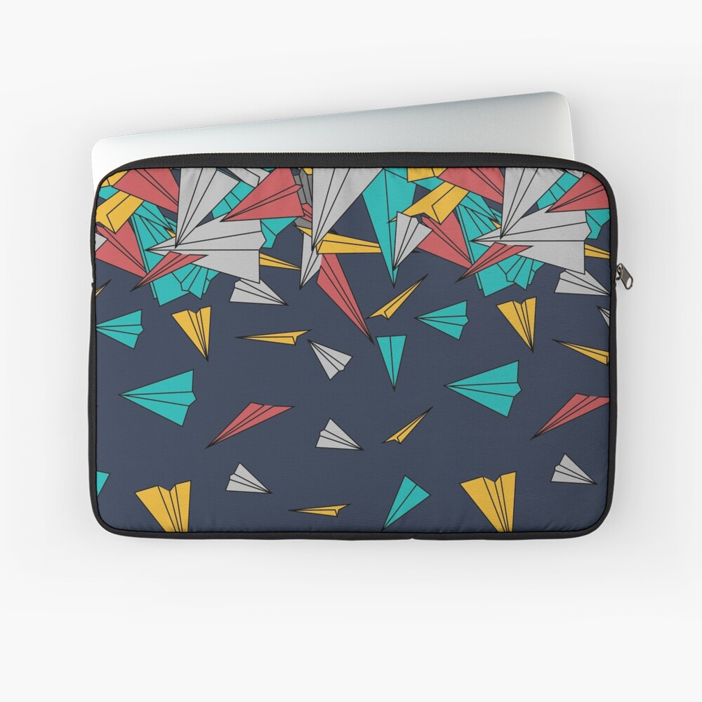Flying paper planes  Laptop Sleeve